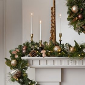 Bulk Christmas Garland.Christmas Wreaths Garland Sam S Club