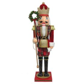 Member's Mark 32'' Wood Nutcracker (Assorted Colors)