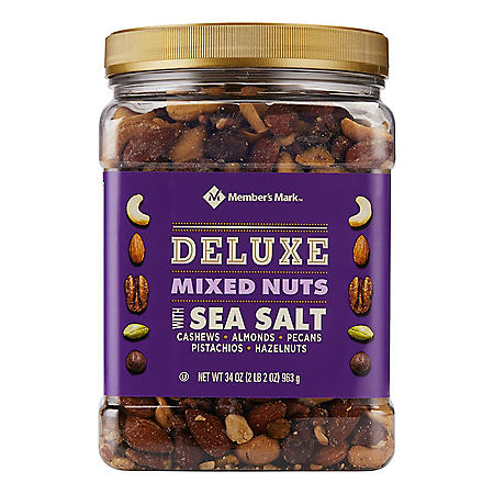 Member's Mark Deluxe Mixed Nuts with Sea Salt (34 oz.)