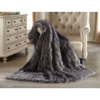 Member's Mark Luxury Faux Fur Throw Assorted Patterns Deals