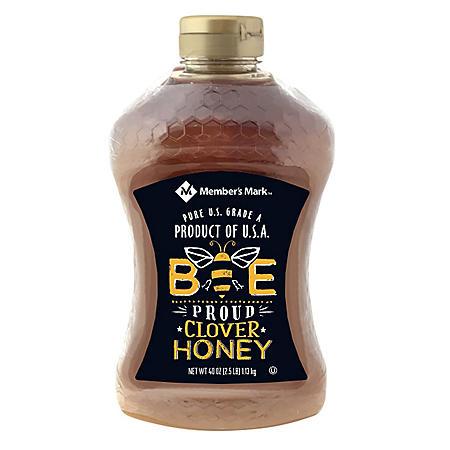 Member's Mark Bee Proud All-American Clover Honey (40 oz., 2 pk.)