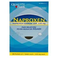 Quality Plus Naproxen Dispenser, 60 packets of 2 tablets each