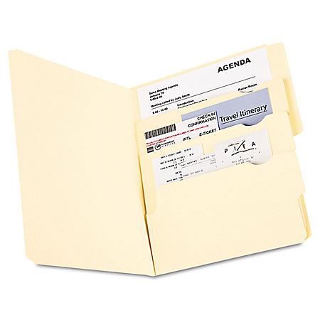 Pendaflex Divide It Up Multi-Section File Folders, Manila (Letter, 24 ct.)