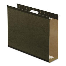 "Pendaflex 3"" Reinforced Extra Capacity Hanging Folders, Standard Green (Letter, 25 ct.)"