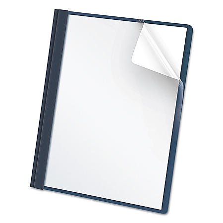 Oxford - Clear Front Report Covers, Various Colors - 25 Count