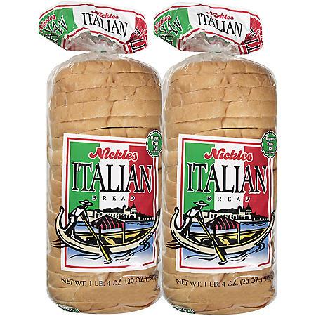 Nickles Italian Bread (2 pk.)