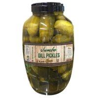 Hunn's Jumbo  Dill Pickles (2.5 Gallon)