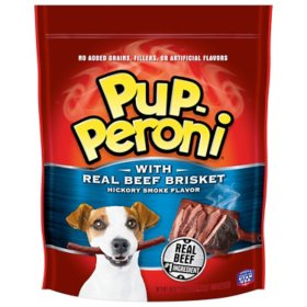 Pup-Peroni Dog Treats with Real Beef Brisket, Hickory Smoked Flavor (50 oz.)
