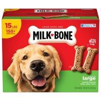 Milk-Bone Original Dog Biscuits, Large Crunchy Dog Treats, 15 lbs.