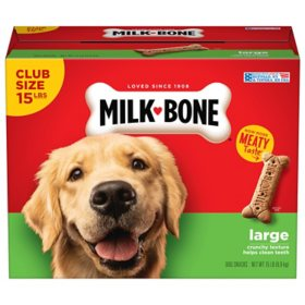 Milk-Bone Dog Biscuits, Large (15 lbs.)