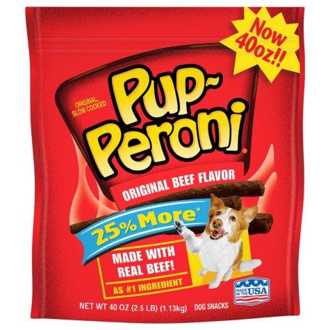 Pup-Peroni Dog Snacks, Original Beef Flavor (40 oz.)
