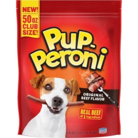 Pup-Peroni Dog Snacks Original Beef Flavor (50 oz.)