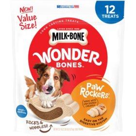 Milk-Bone Wonder Bones Paw Rockers, Chicken (12 ct.)