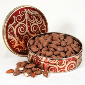 Chocolate Covered Almonds Gift Tin (15 oz.)