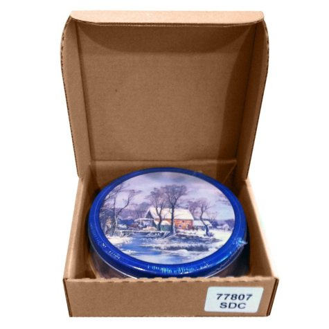 Chocolate Covered Almonds Gift Tin - 20 oz.