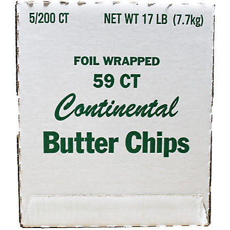 Continental Butter Chips (200 ct.)