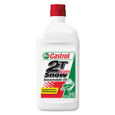 Castrol 2T Snowmobile Oil - 12/1qt