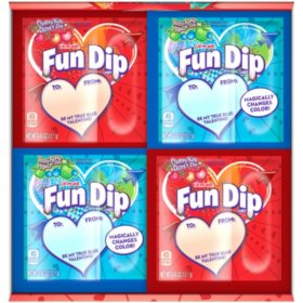 Razz Apple Magic Dip and Cherry Yum Diddly Dip Flavored Fun Dip (0.43oz., 60pk.)