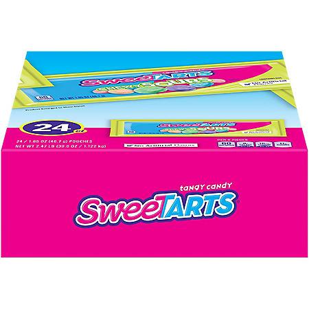 SweeTarts Chewy Sours (1.65 oz., 24 pks.)