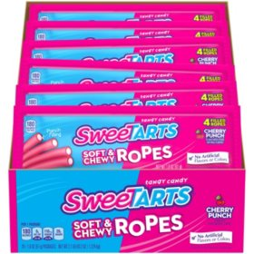 SweeTarts Soft & Chewy Ropes (1.8 oz., 24 ct.)
