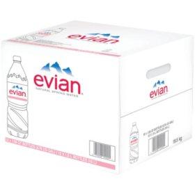 Evian Natural Spring Water (1.5L / 12pk)