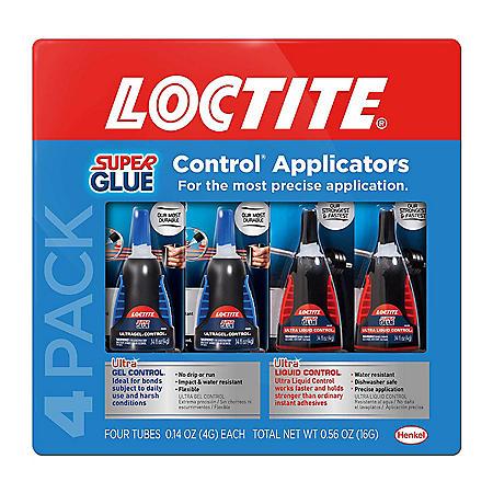 Loctite UltraGel/Ultra Liquid Super Glue 4 pack - Sam's Club