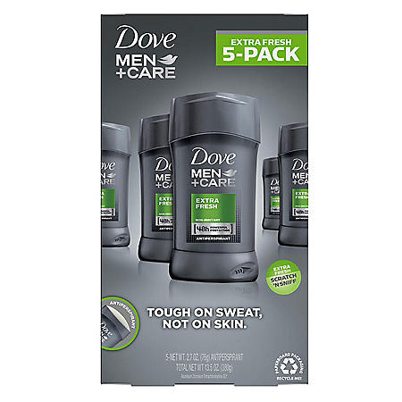 Dove Men+Care Antiperspirant Deodorant Extra Fresh (2.7 oz 5pk)
