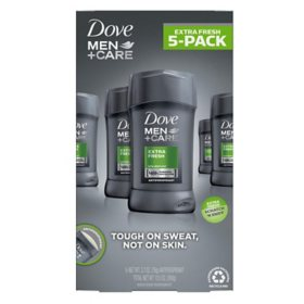 Dove Men + Care Deodorant, Extra Fresh (2.7 oz., 5 pk.)