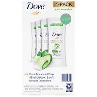 Dove Antiperspirant Deodorant Cool Essentials (2.6 oz., 4 pk.)