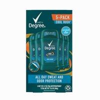 Degree Men Dry Protection Anti-Perspirant, Cool Rush (2.7 oz., 5 pk.)