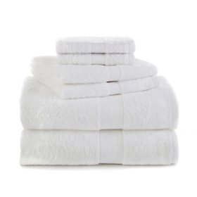 Martex Ringspun Cotton 6-Piece Towel Set