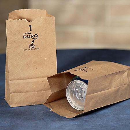 Duro Member's Mark Bag 1# Kraft Bags (500 ct.)