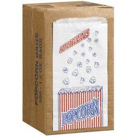Duro Bag Popcorn Bags - 500/1.5oz