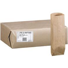 Duro Bag Litre Liquor Kraft Bags - 500ct