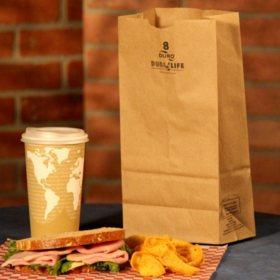 Duro Bag 8# Kraft Bags (500 ct.)