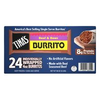 Tina's Individually Wrapped Beef and Bean Burritos, Frozen (24 ct.)