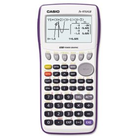 Casio - 9750GII Graphing Calculator -  21-Digit LCD