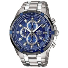 Casio Men's EDIFICE Chronograph with Stainless Steel Band