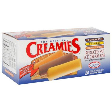 Creamies™ Premium Ice Cream Bar Variety Pack - 24 ct.