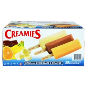 Creamies Ice Cream, Variety Pack (30 ct.)