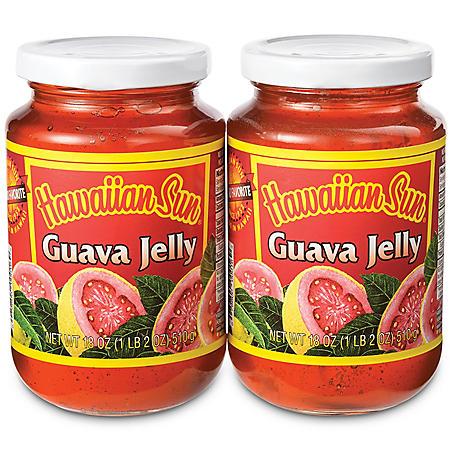 Hawaiian Sun Guava Jelly (18 oz. jars, 2 pk.)