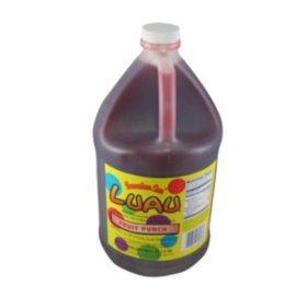 Luau Brand Fruit Punch Syrup (1gal)