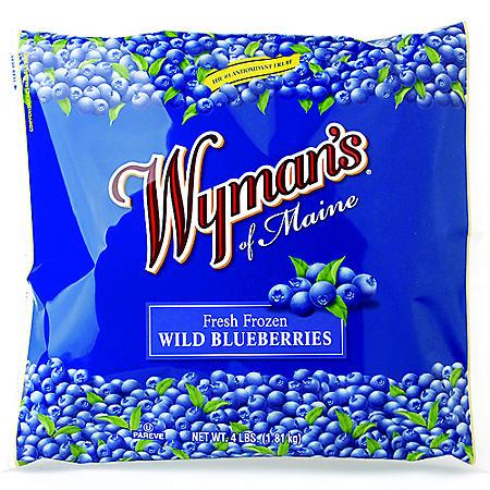 Wyman's Fresh Frozen Bluberries