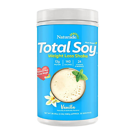 Naturade Total Soy, Vanilla 30 Servings
