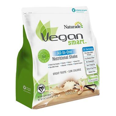 Naturade Vegansmart Whole Food Nutrition Protein Shake Vanilla   Oz