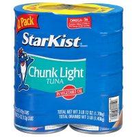 StarKist Chunk Light Tuna in Oil (5 oz., 12 pk.)