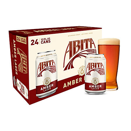 Abita Brewing Amber Lager (12 fl. oz. can, 24 pk.)