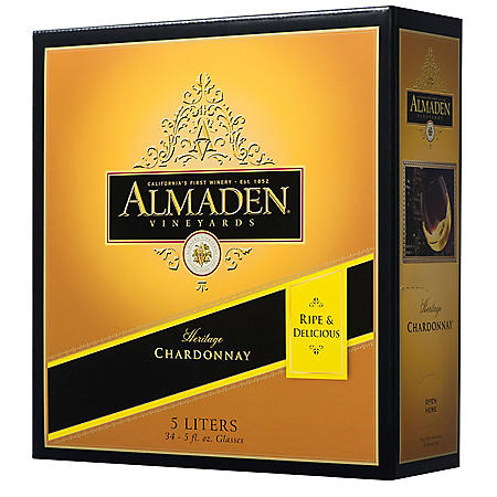Almaden Chardonnay White Wine (5 L box)