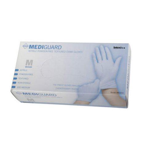 Mediguard Nitrile Exam Gloves - Large - 1,000 ct.