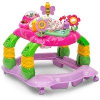 Delta Children Li'l Play Station 4-in-1 Activity Walker (Choose Your Color)